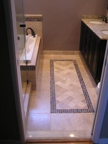 Bathroom Floor Tile Patterns Images