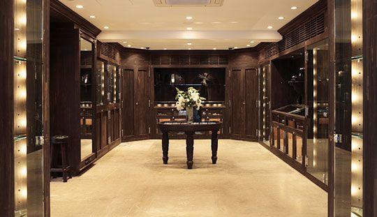 36f22e281a6 chrome hearts ebony wood showroom