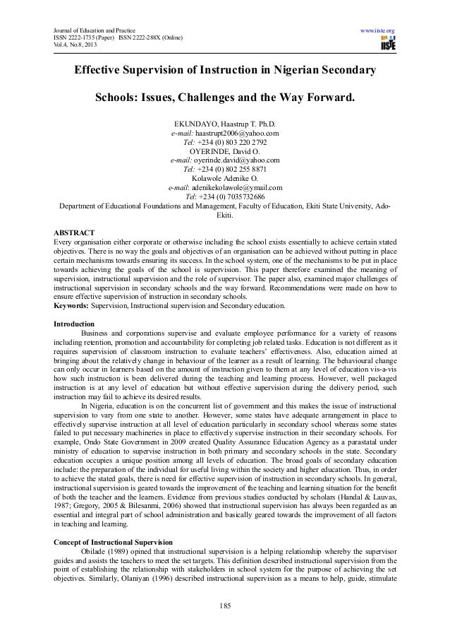 Journal Of Education And Practice WwwIisteOrgissn