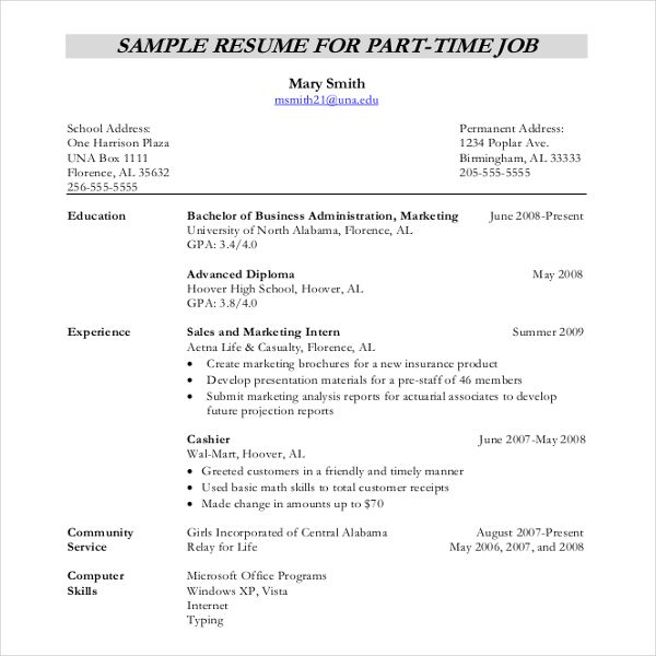 Resume Writing Template Resume Writing Template Free Sample Example Format Download Part