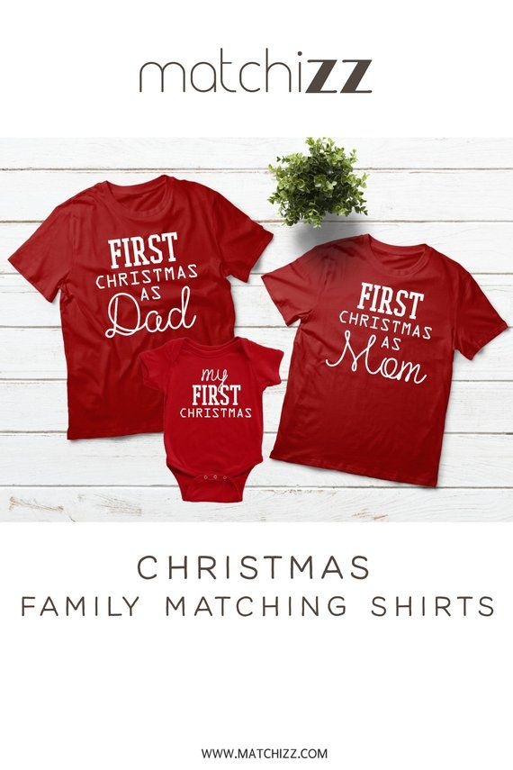 2eb8aeecc289 Baby First Christmas Family Outfits Gift Idea  christmasgifts   familyoutfits  familyshirts  christmasoutfits