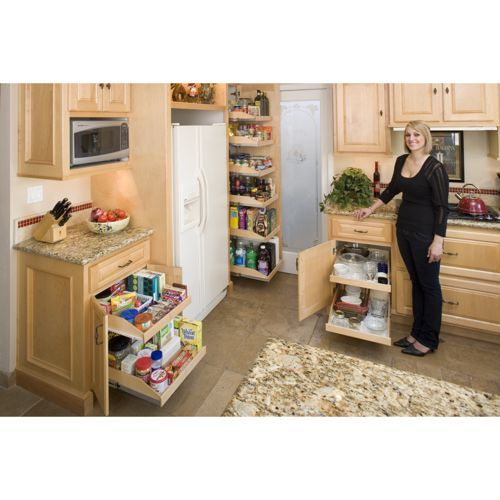 Made To Fit Slide Out Shelves For Existing Cabinets By Slide A Shelf Slide Out Shelves Storage Cabinets Pantry Design