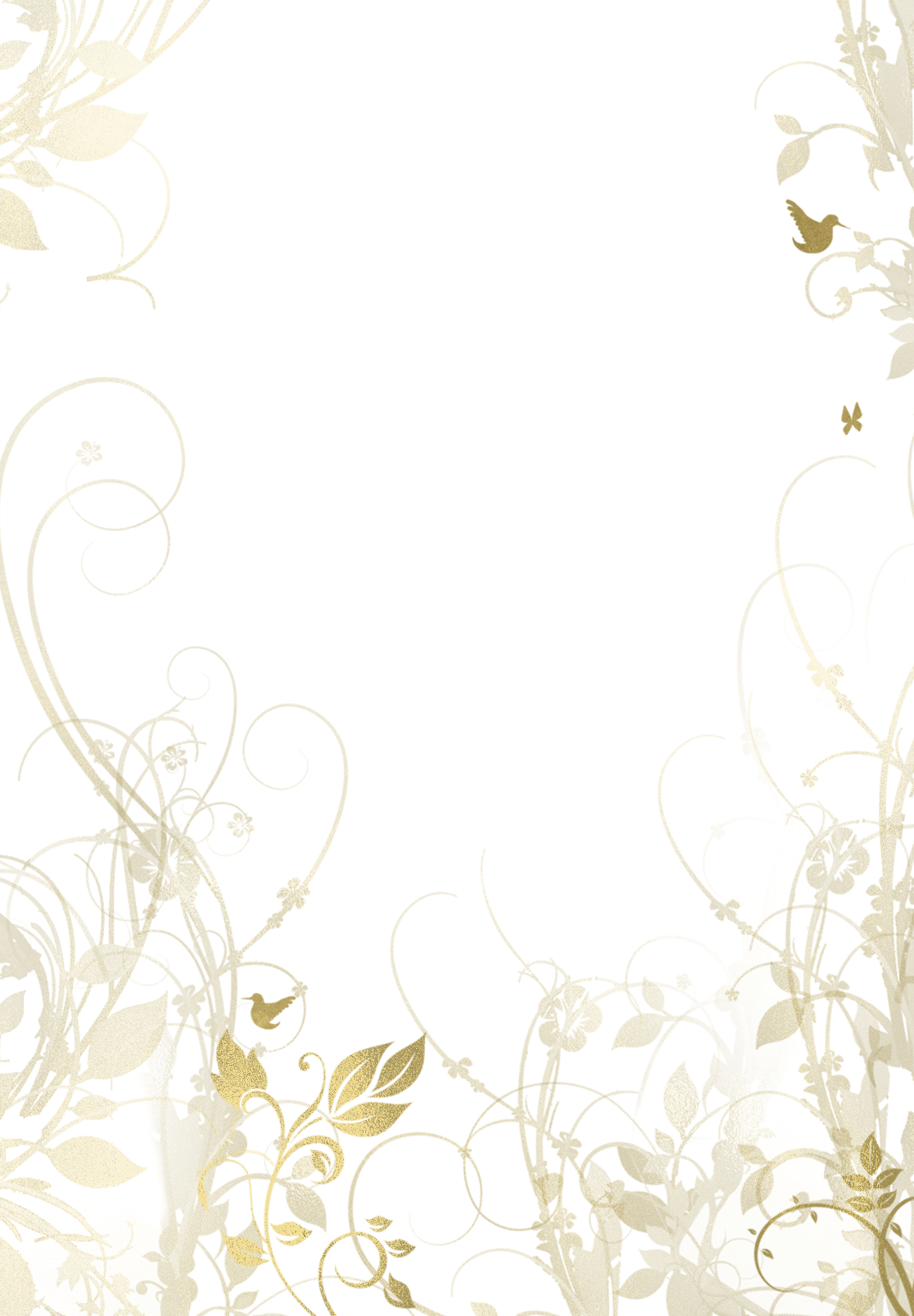 Muted Floral - Wedding Invitation Template (free)  Gr  Wedding