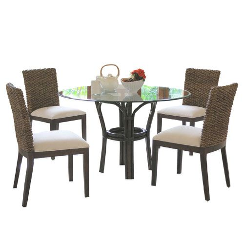 Sanibel Rattan Dining Room Set 1001 From Panama Jack  Hospitality Simple High Quality Dining Room Sets Decorating Design