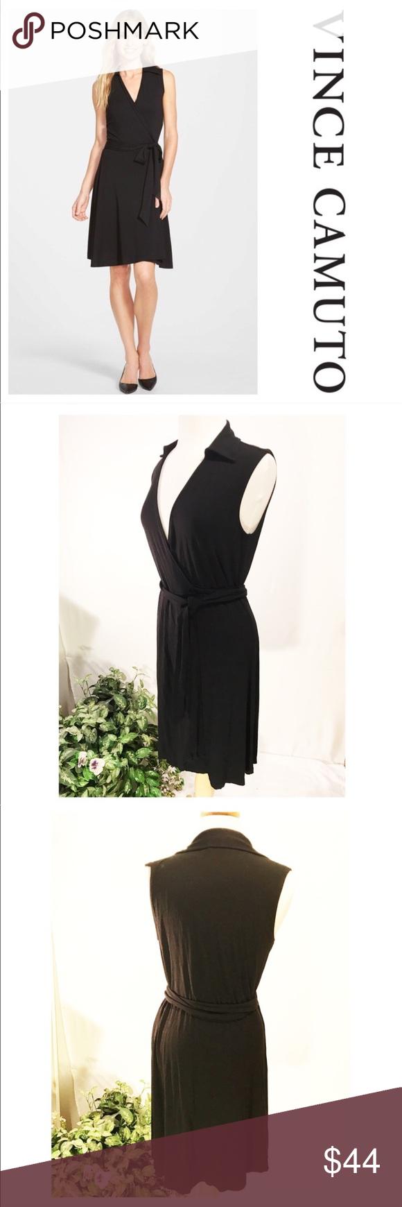 Vince Camuto Dress Vince Camuto Dress Dresses Sleeveless Wrap Dress [ 1740 x 580 Pixel ]