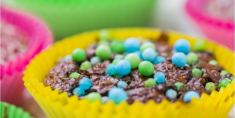 Easter egg brownies image pciture photo brownie recipes