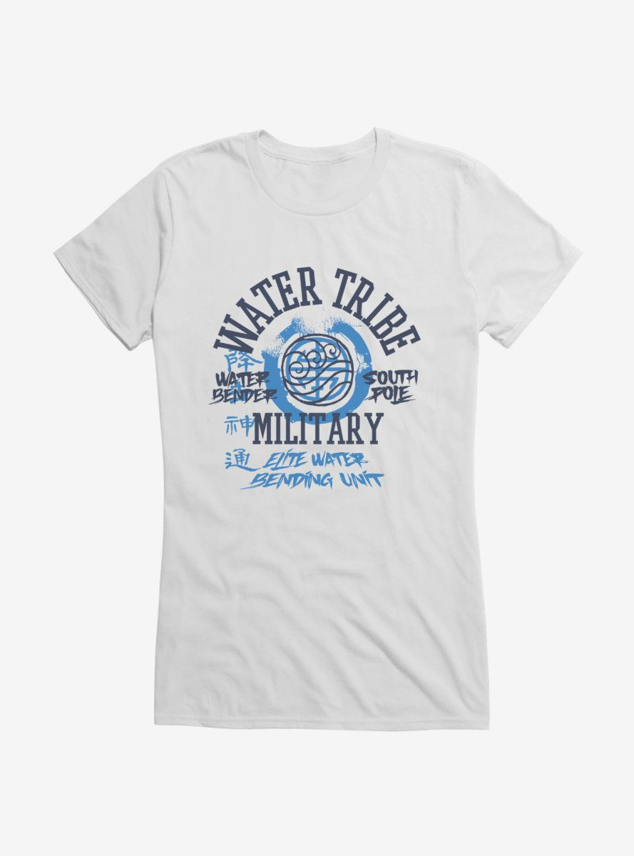 Avatar: The Last Airbender Water Tribe South Pole Girls T-Shirt