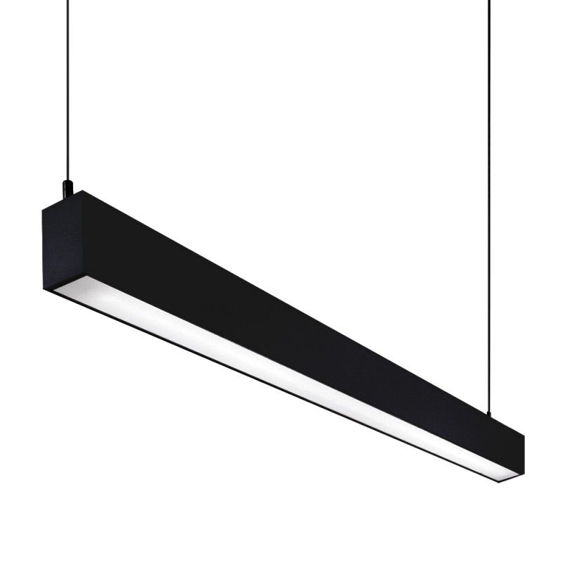 slik suspension a single pendant luminaire with diffused lighting using 2 x 35w t5 fluorescent. Black Bedroom Furniture Sets. Home Design Ideas
