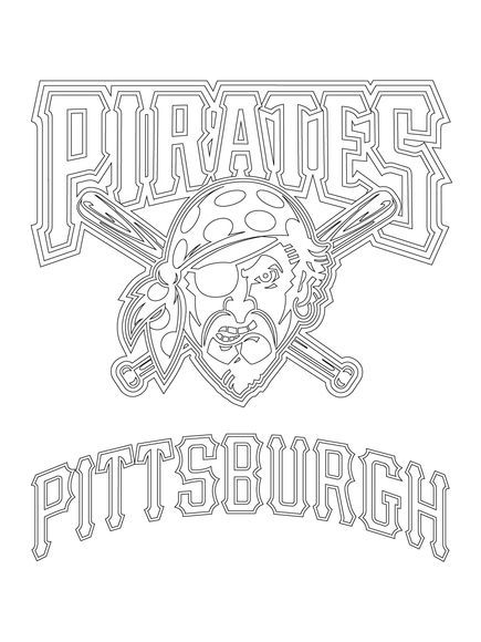 Pittsburgh Penguins Coloring Sheets Pirate Coloring Pages Super