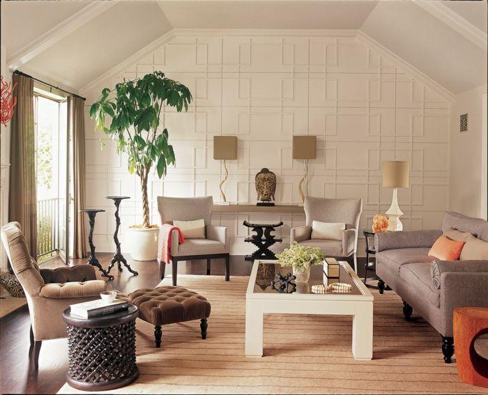 1001 Idees Pour Une Deco Salon Zen Les Interieurs Types Pour Une Ambiance Ethnique Decoration Salon Zen Deco Salon Meuble Deco
