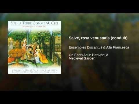 Salve, rosa venustatis (conduit) - YouTube