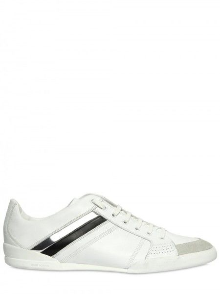 Dior Homme Mirrored Calfskin Sneakers