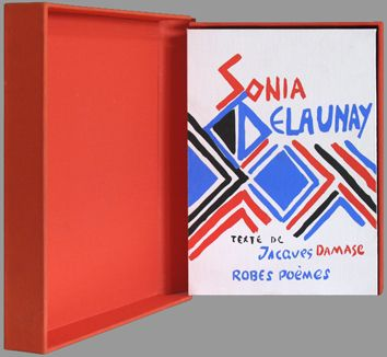 Original signed book by Delaunay Sonia