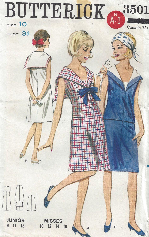 1960/'s Sailor Dress