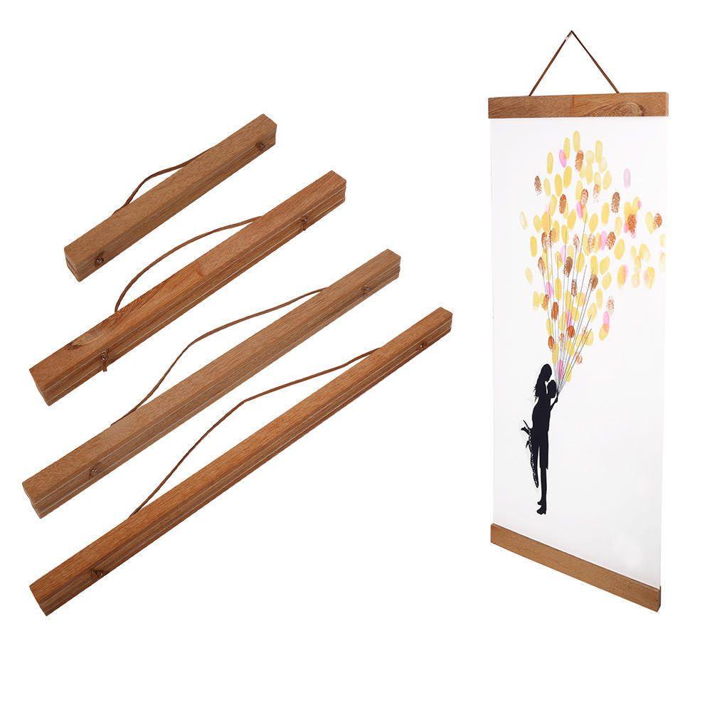 мерцающая рамы для постеров деревянные пристани