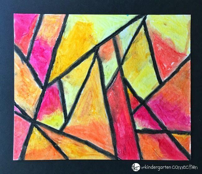 Easy Oil Pastel Project For Kids Oil Pastel Art Oil Pastel