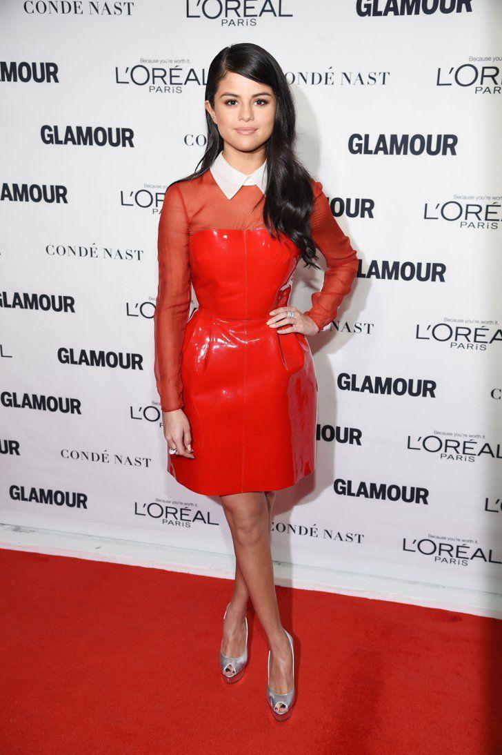 Pin for Later: Seht all' die Girl Power bei den Glamour Awards Selena Gomez