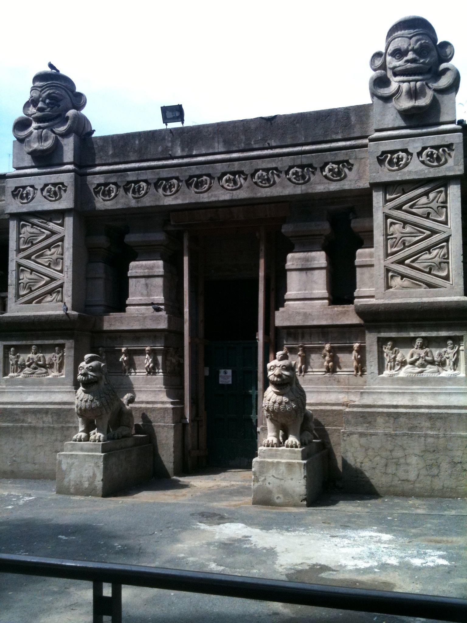 Llama building
