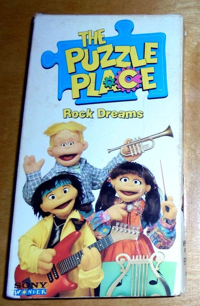 The Puzzle Place Rock Dreams Vhs Very Rare Kiki Puzzleplace Skye