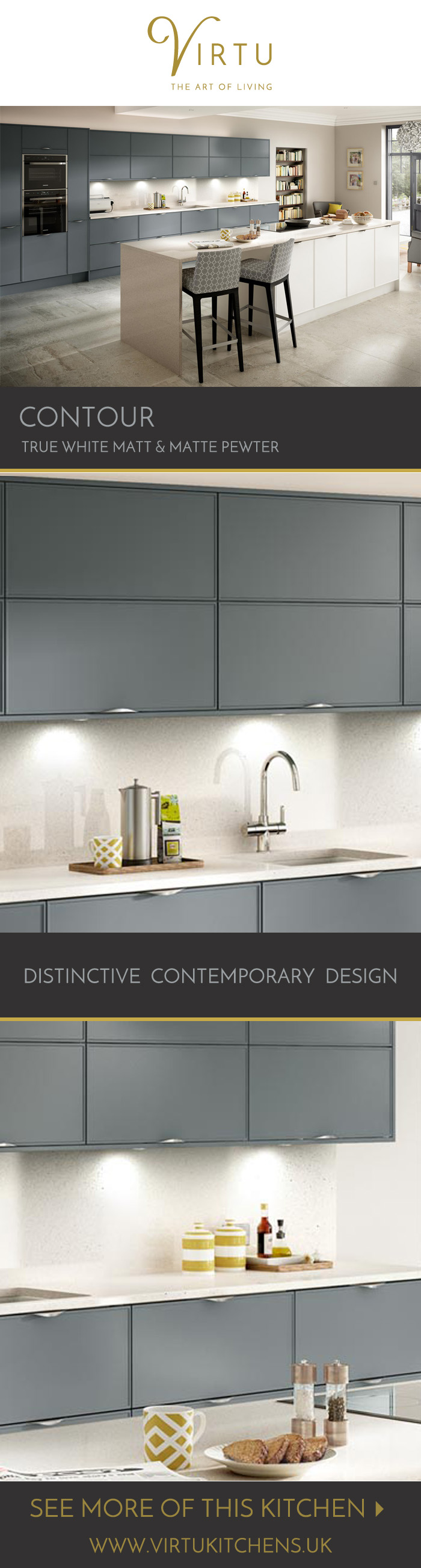 Contour is for lovers of modern minimalism. The versatile doors