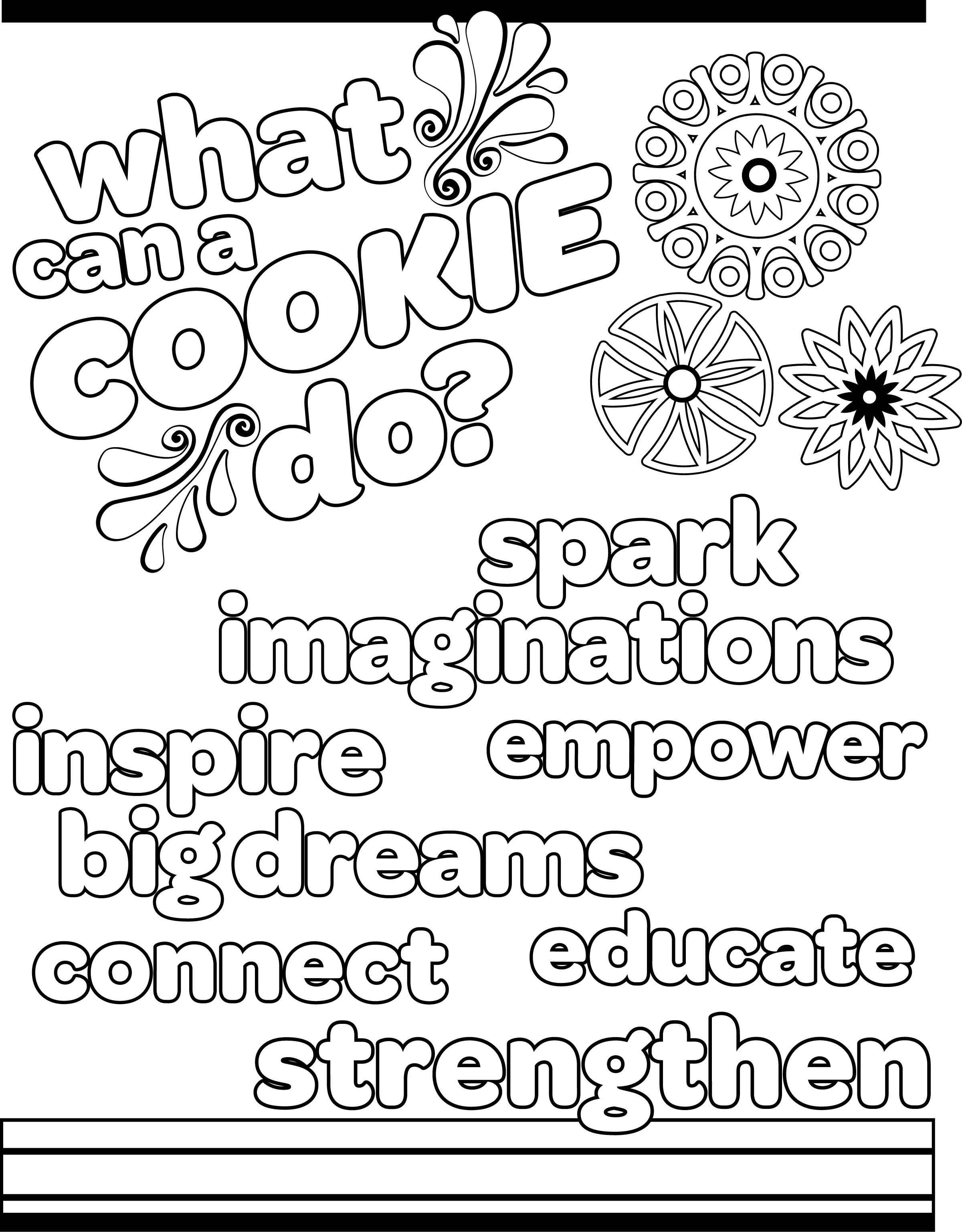 abc girl scout cookies coloring pages google search