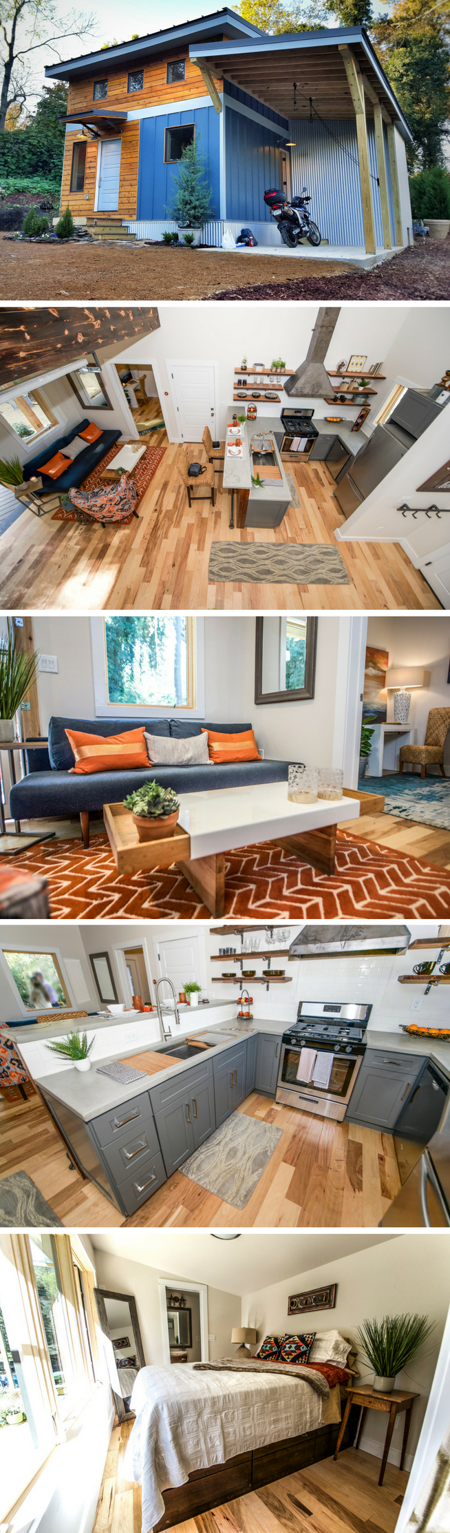 The Urban Micro House: a 600 sq ft home from Wind River Tiny Homes ...