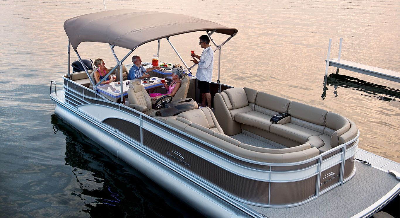 how to clean aluminum boat pontoons