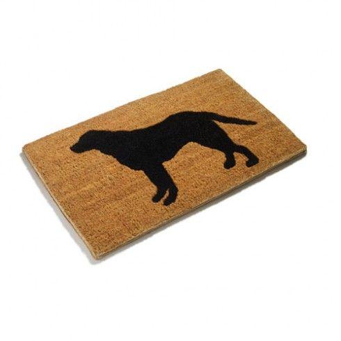 Old Labrador Dog Door Mat Gb 2995 House Pinterest Door Mats