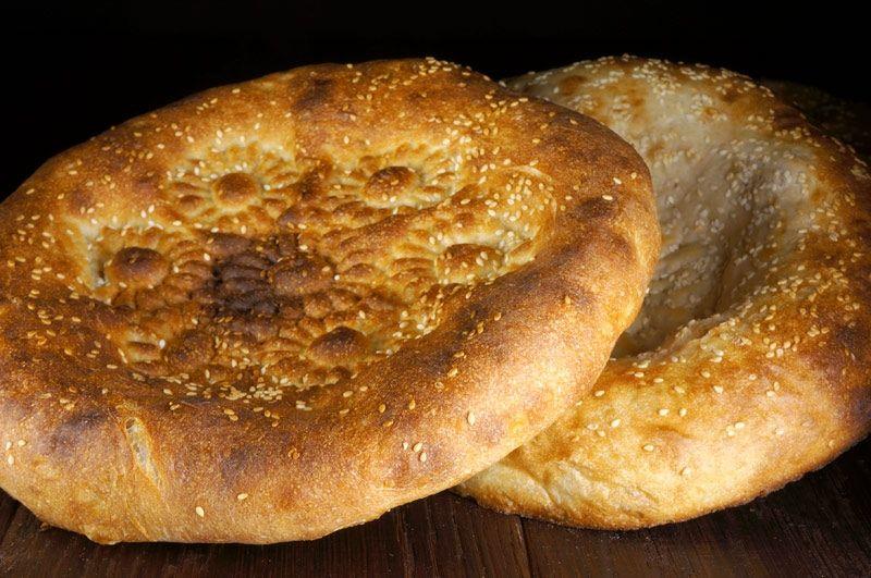 Калорийность лепешки узбекской из тандыра
