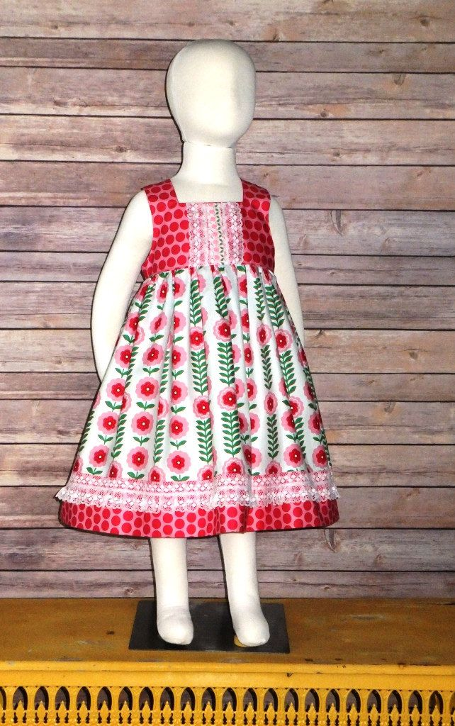 Clothing, Shoes & Accessories Baby & Toddler Clothing Girls Pretty Floral Spring Dress 12-18 Months????????????