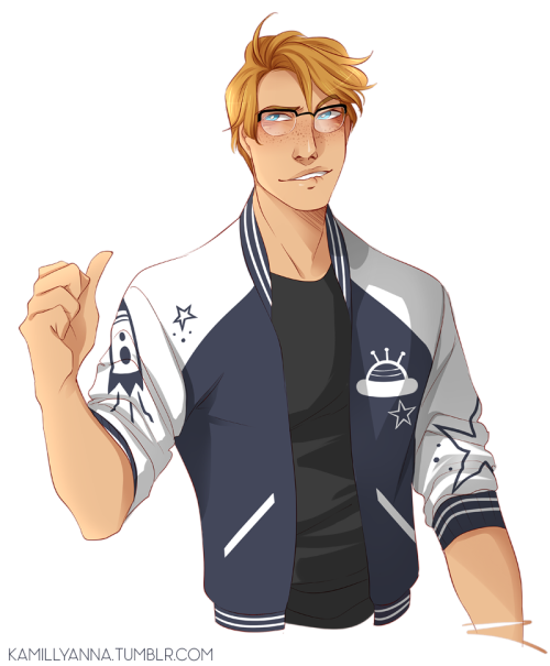 Space Letterman Jacket At O At Hetalia Headcanons Hetalia