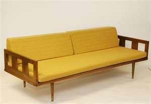 mid century design couch