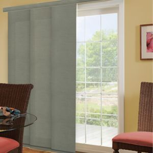 Envision Panel Track Blinds Blackout Sliding Door