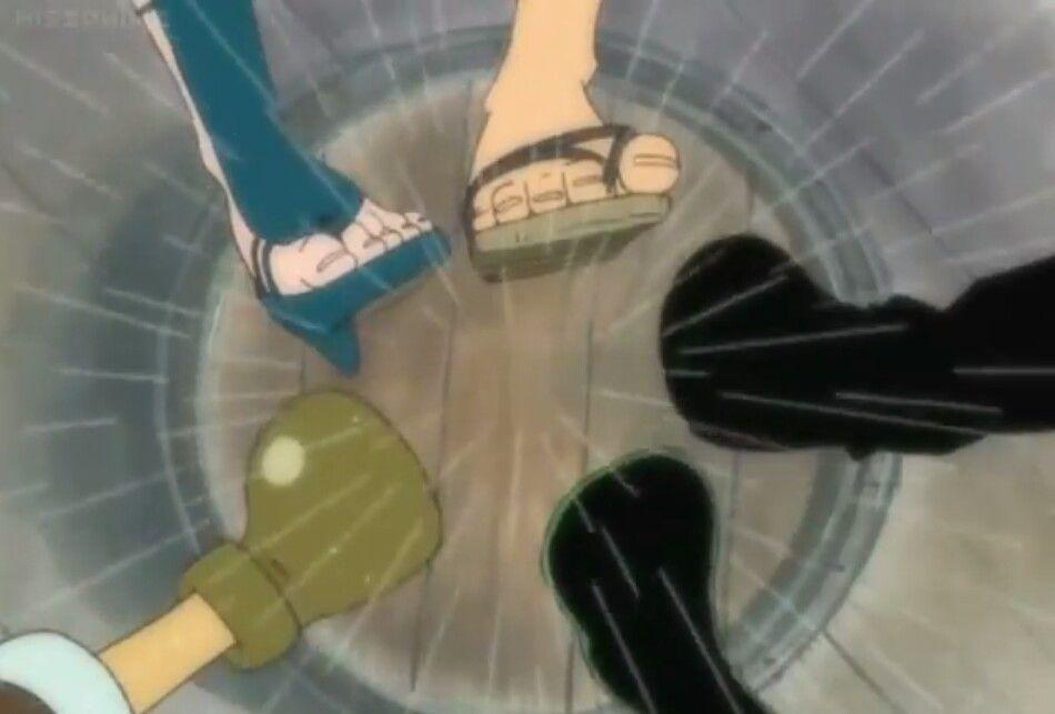 Piece nami feet one One Piece