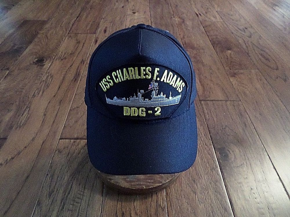 USS CHARLES F ADAMS DDG-2 U.S NAVY SHIP HAT OFFICIAL MILITARY BALL CAP U.S  MADE  fashion  clothing  shoes  accessories  mensaccessories  hats (ebay  link) 4e7d8c51797