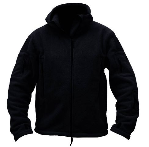 Outerwear Sports Military Fleece Warm Thermal Breathable Hooded Men Tactical Jacket