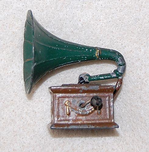 C1910 - Miniature Early PHONOGRAPH / GRAMOPHONE