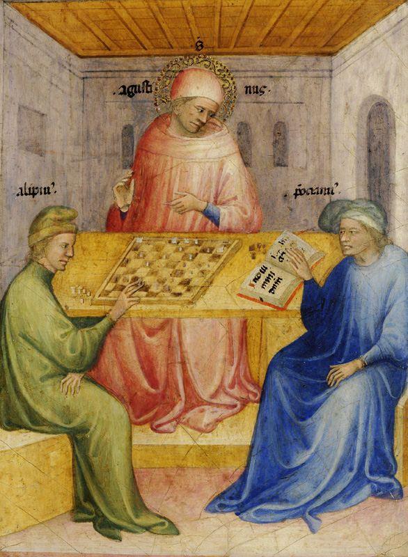 Nicolo di Pietro - The conversion of Saint Augustin