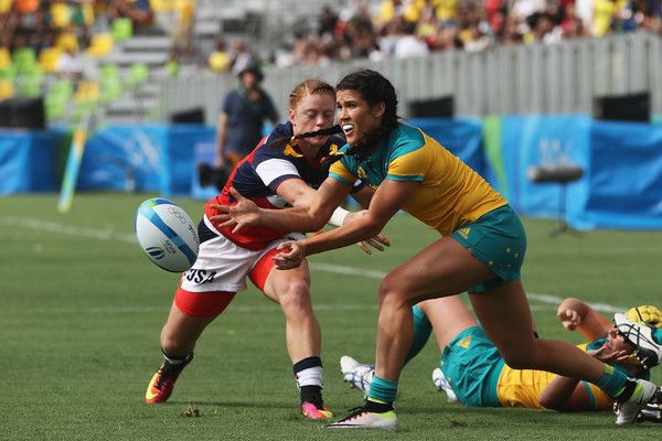 Alev Kelter Photos Photos Rugby Olympics Day 2 Womens Rugby Rugby Olympics