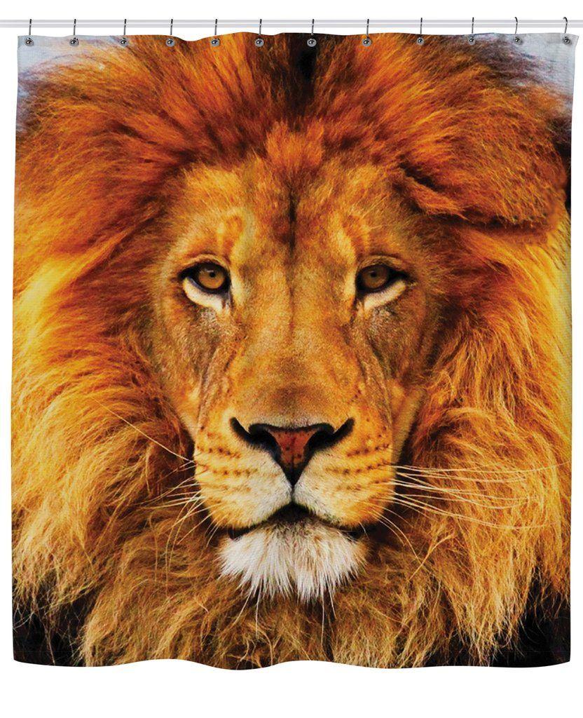 Lion Shower Curtain Lion Pictures Beautiful Lion African Lion