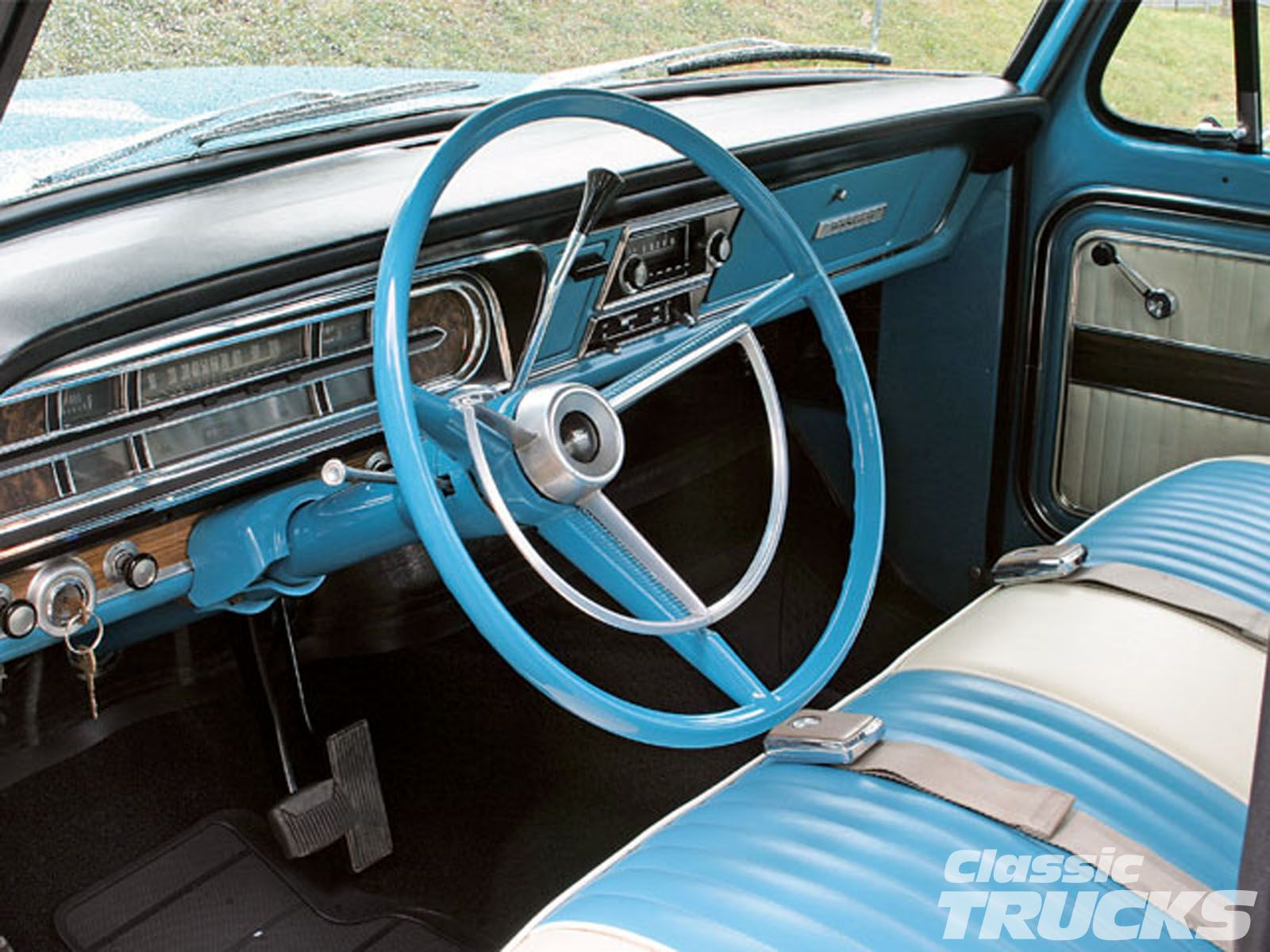 1969 ford f 100 interior photo ford f100 pickup truck custom leather interior photo
