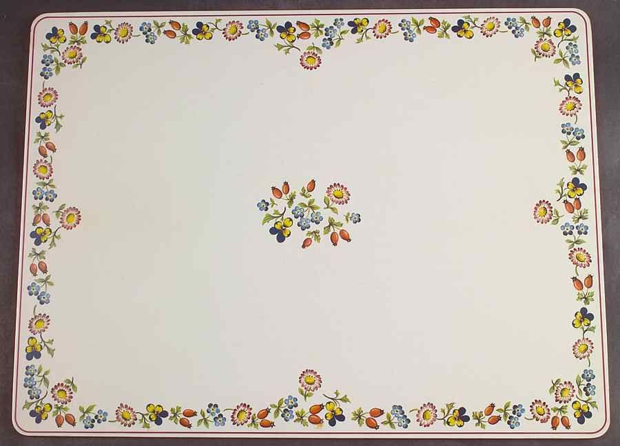 Petite Fleur Corkboard Placemat By Villeroy Boch Petite Fleurs Cork Board Placemats