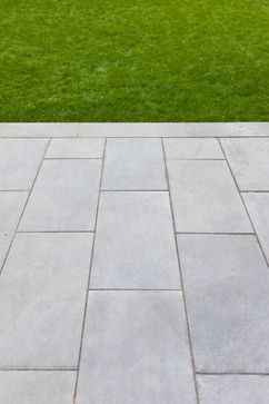 Like Color Of Bluestone Paving Material Would Blend With Existing Concrete For Front Large Blocks Border Idea