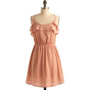 I like the style of this dress! (the color is not for me though - I'm too pale!)