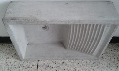 Batea Cemento Lavar Ropa 60 Cm X 40 Lavando Ropa Cemento Lava