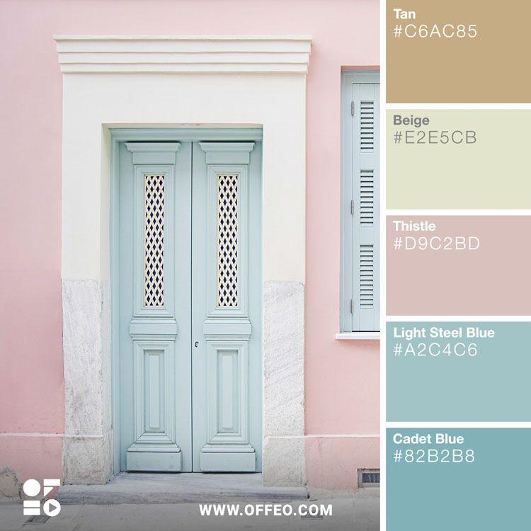 20 Soft Pastel Spring/Summer Color Palettes
