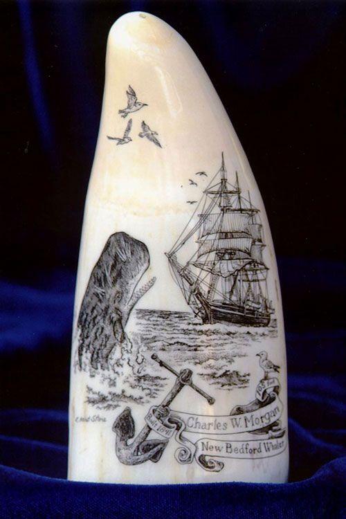 Image result for a whaler carving scrimshaw pinterest