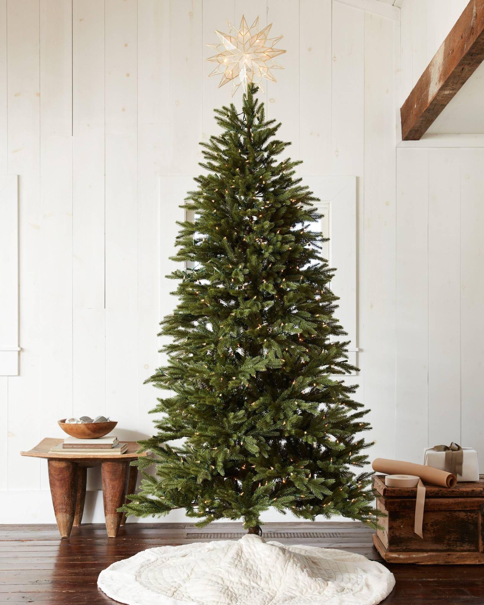 Silverado Slim Artificial Christmas Trees Balsam Hill Slim Artificial Christmas Trees Best Artificial Christmas Trees Narrow Christmas Tree