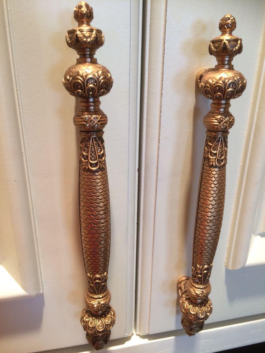Luxury kitchen handles