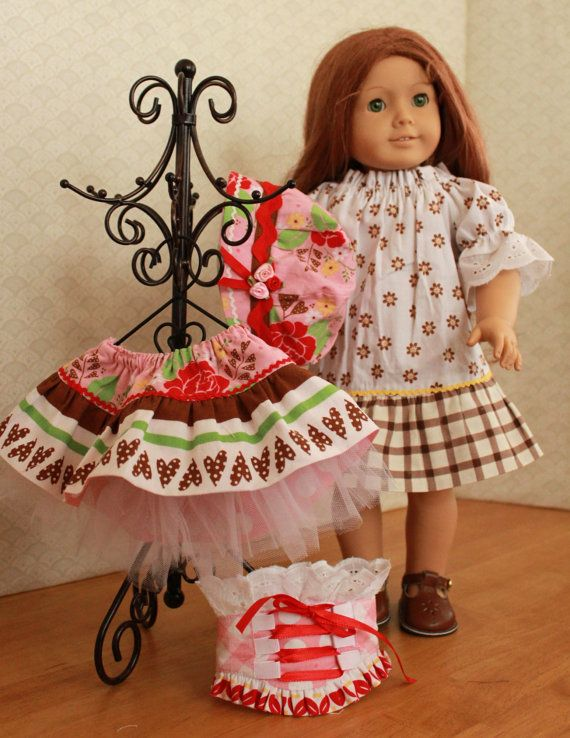 Boutique style clothes for American Girl doll by BrooksideLane, $38.00